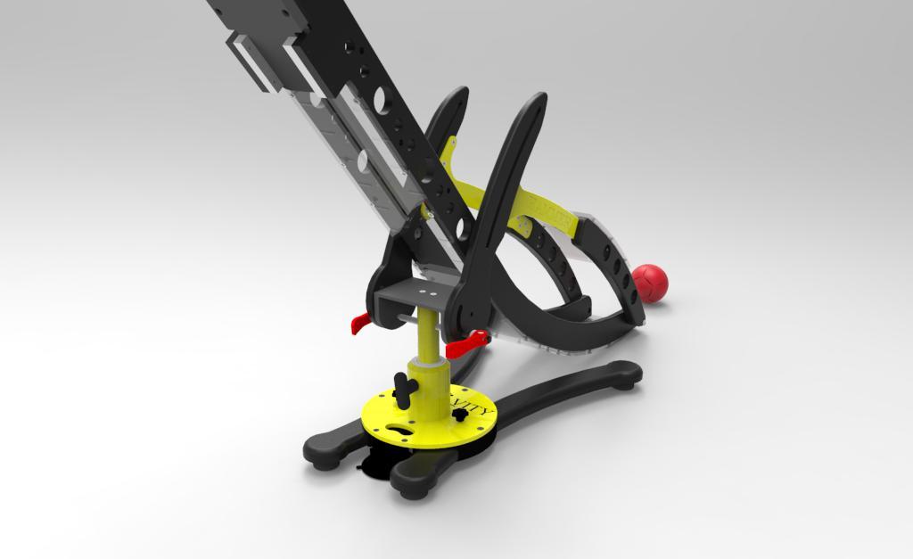 The Hammer Boccia Ramp by Gravity Render 2