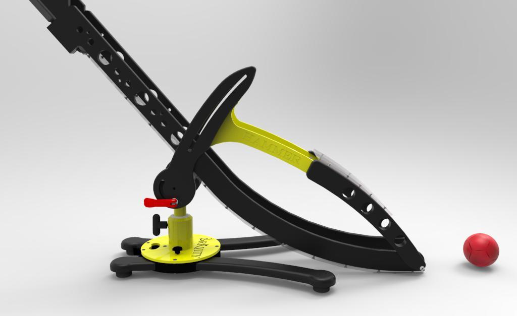 The Hammer Boccia Ramp by Gravity Render 1
