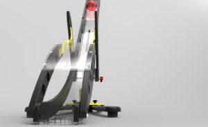The Hammer Boccia Ramp by Gravity Render